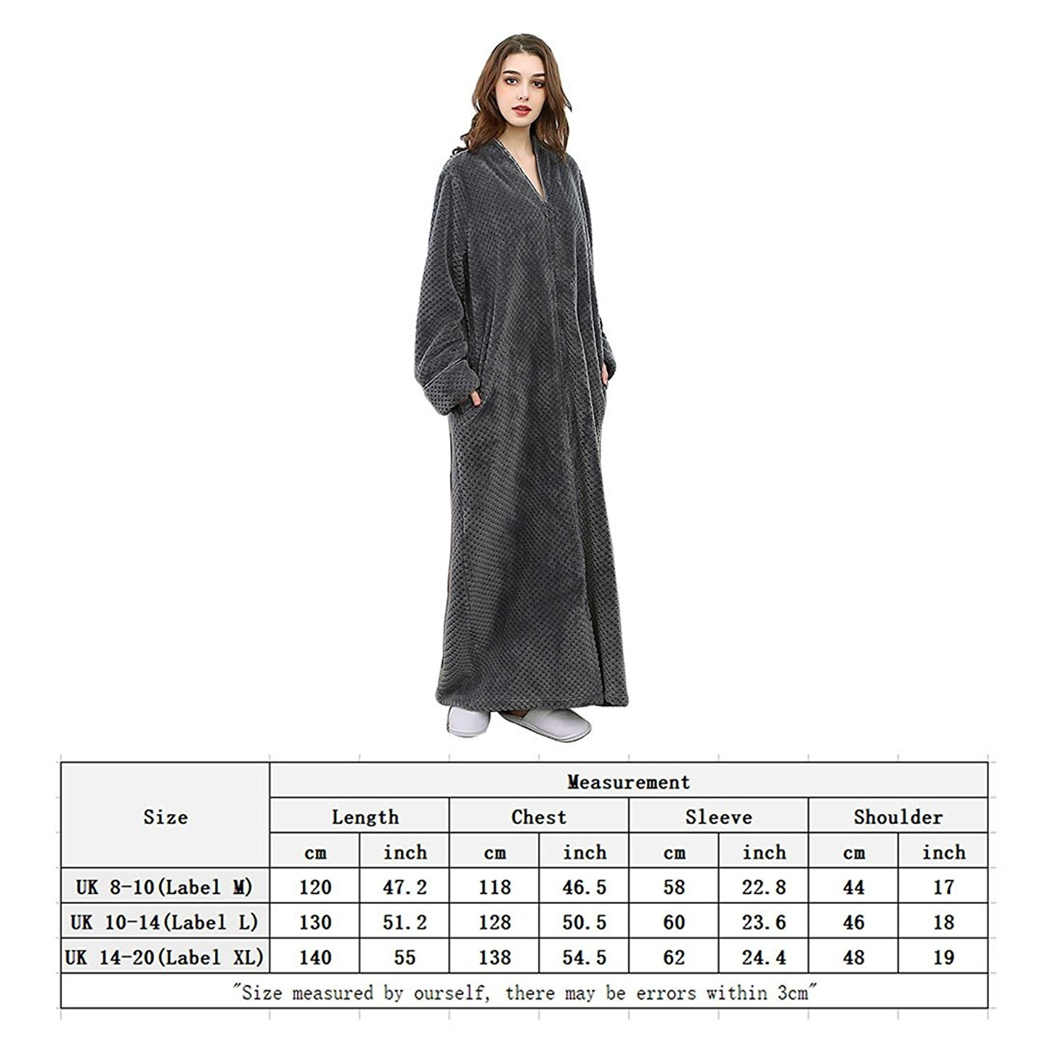42ff9f26ff Zip Up Dressing Gown Homeware  Buy Online from Fishpond.co.nz