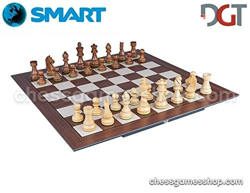 DGT SMART Board WI + Wooden Timeless e-pieces - Electronic CHESS set