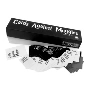 Sun world Cards Game against muggles,recreation professionally made Harry Potter spin off of Cards against Humanity