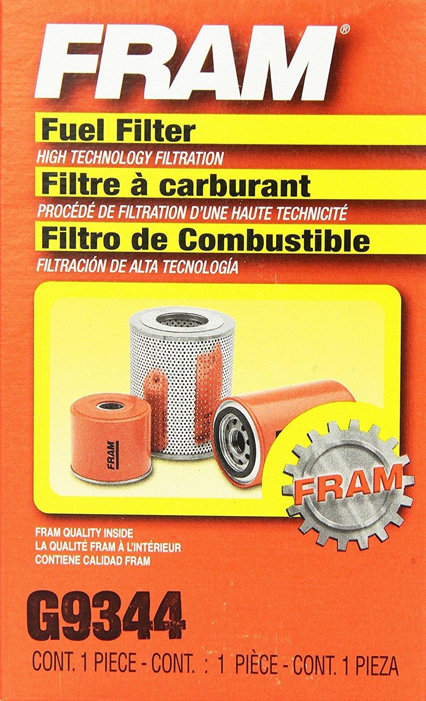 FRAM G9344 In-Line Fuel Filter