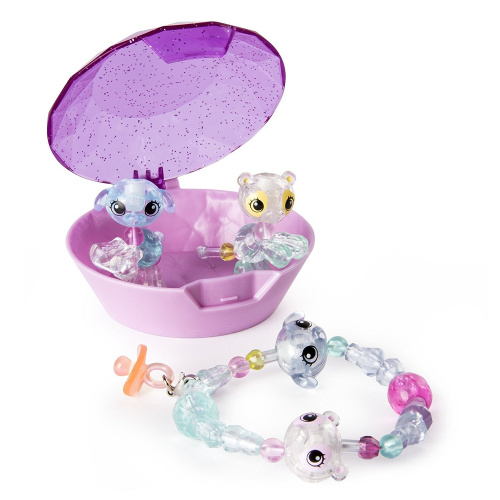 Twisty Petz Babies 4-Pack Kitties and Puppies Collectible Bracelet Set for Kid