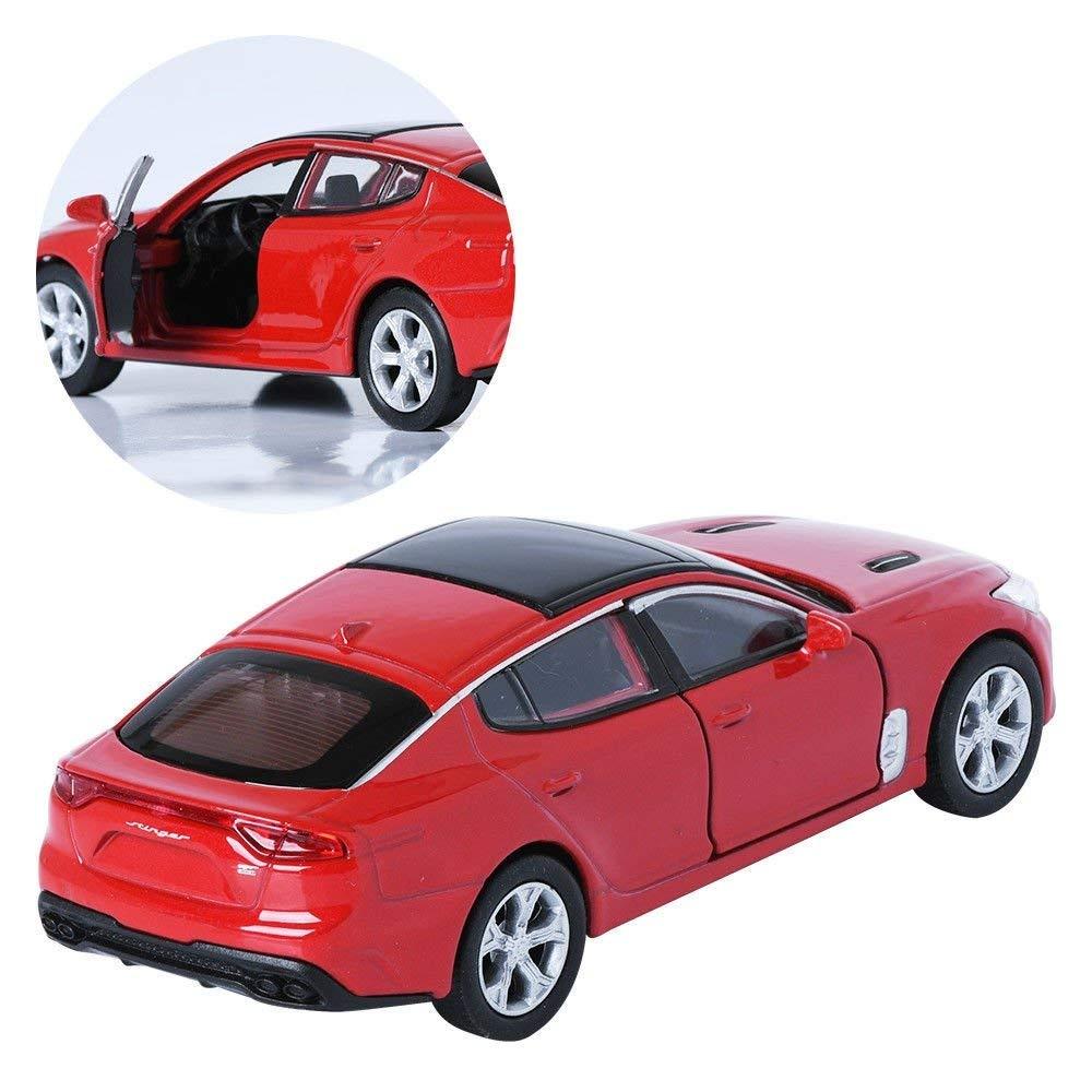 1:38 Diecast Mini Car Toys Miniature for Kia Stinger