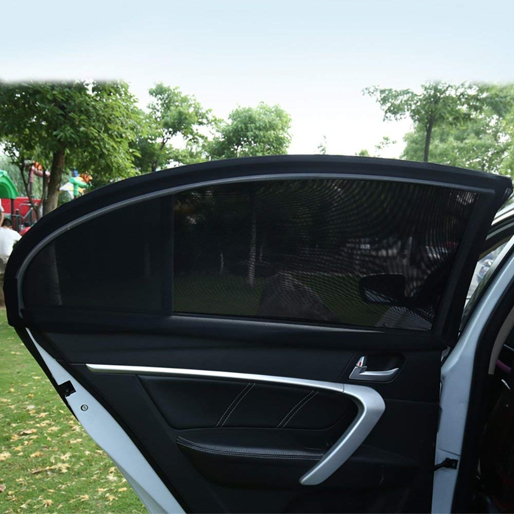 2x Kids Baby Children Car Window UV Protection Mesh Sun Blind Shades