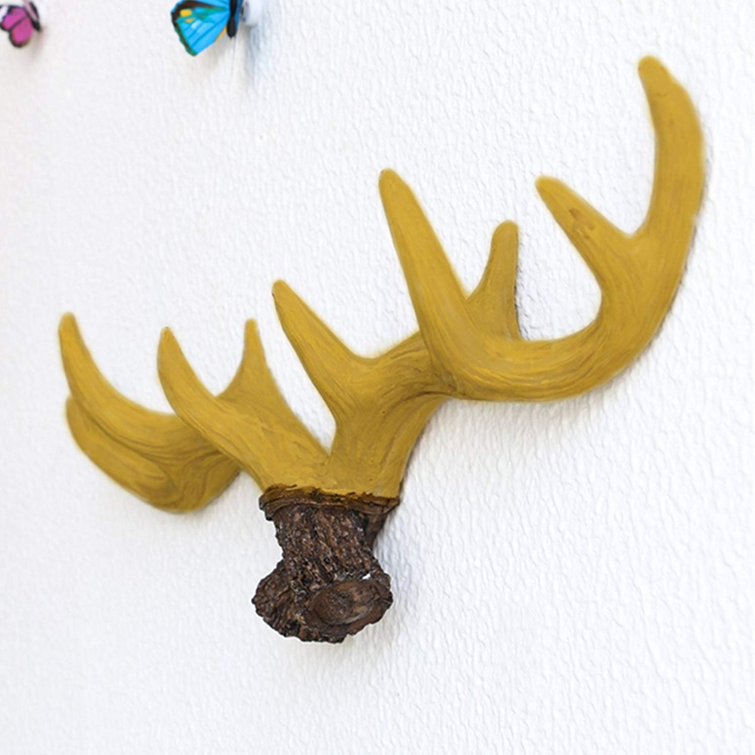 Funky Chrome Stags Head Wall Decoration Adornment - The Wall Art ...