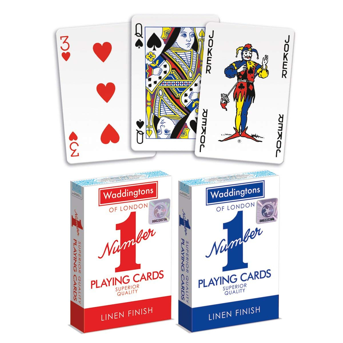 Toys Games Red Blue Decks Of Waddingtons No 1 Classic Playing Cards Twin Pack Poker Game Poker Playing Cards Firebirddevelopersday Com Br