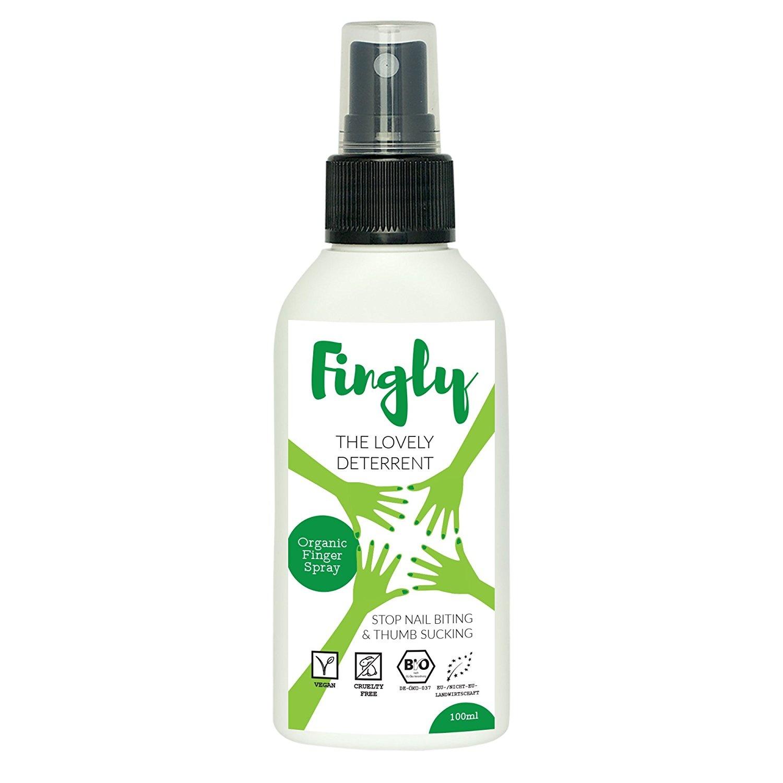 Stop Biting Nails with FINGLY Spray | Natural Anti Nail Biting ...