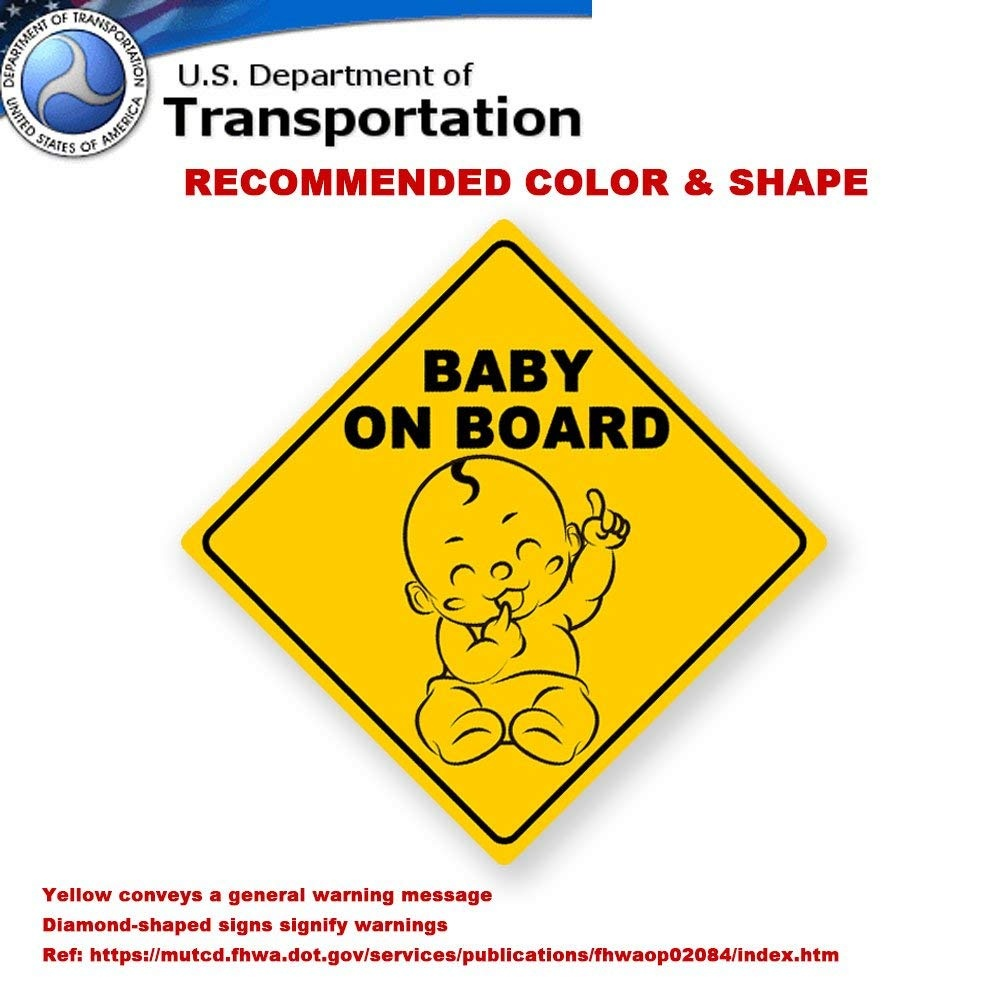 Baby on Board Bumper Sticker Decal Baby On Board Sign Brown Monkey Baby On Board Car Sign Unisex Baby On Board Baby Sign Grandchild On Board Baby Car Signs