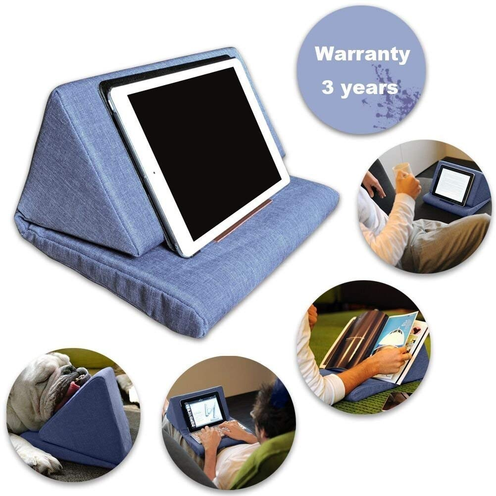Bagvhandbagro Tablet Pillow Holder, Mini Tablet Holder Sofa Reading  Stand,Self Standing Or Use on Lap, Bed, Sofa, Couch,for Galaxy And  IPad Colour
