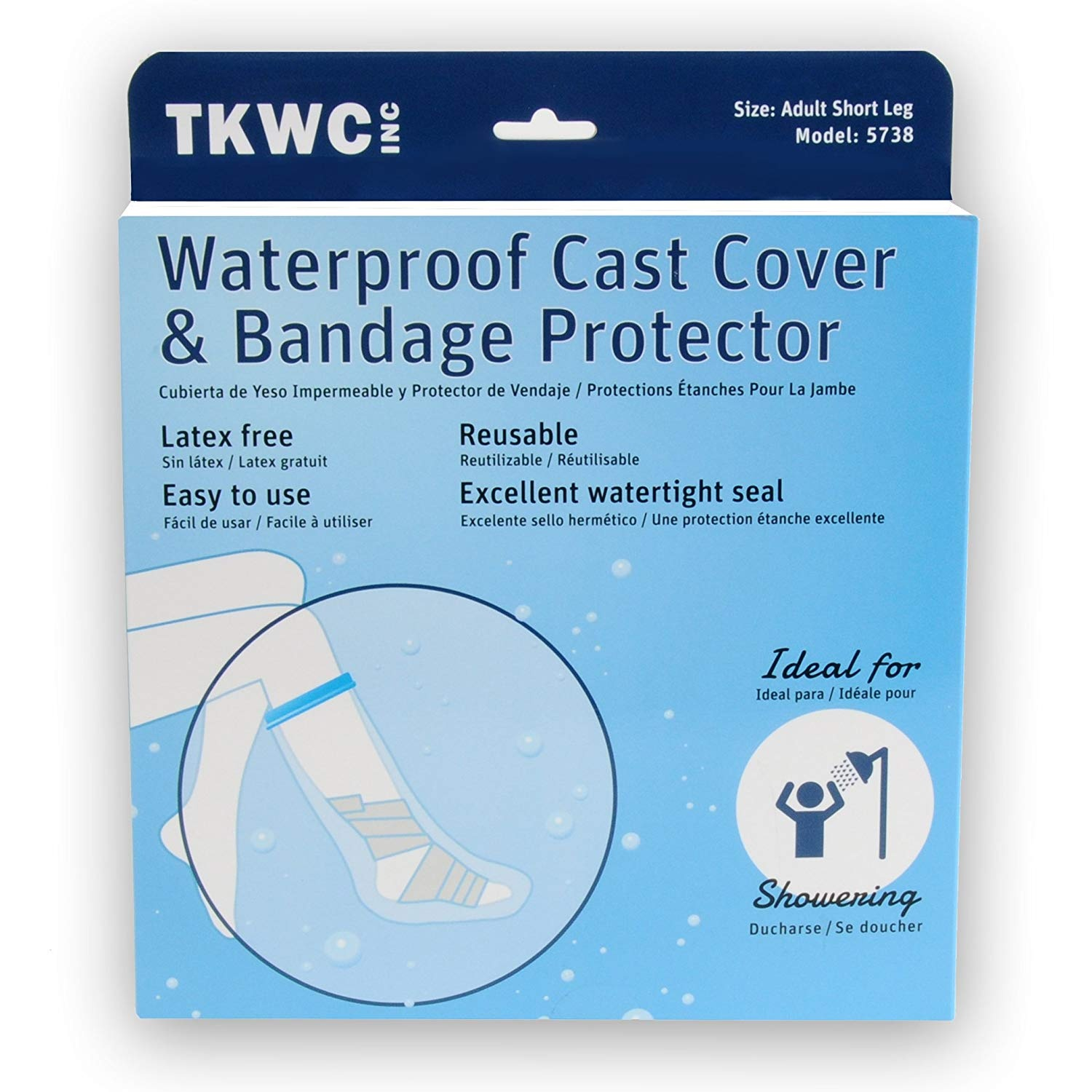 Bath & Shower Bath Energetic Adult Waterproof Adult Sealed Cast Bandage Protector Wound Fracture Hand Arm Cover For Shower Bath Foot Hands Skin Care Tools Fixing Prices According To Quality Of Products