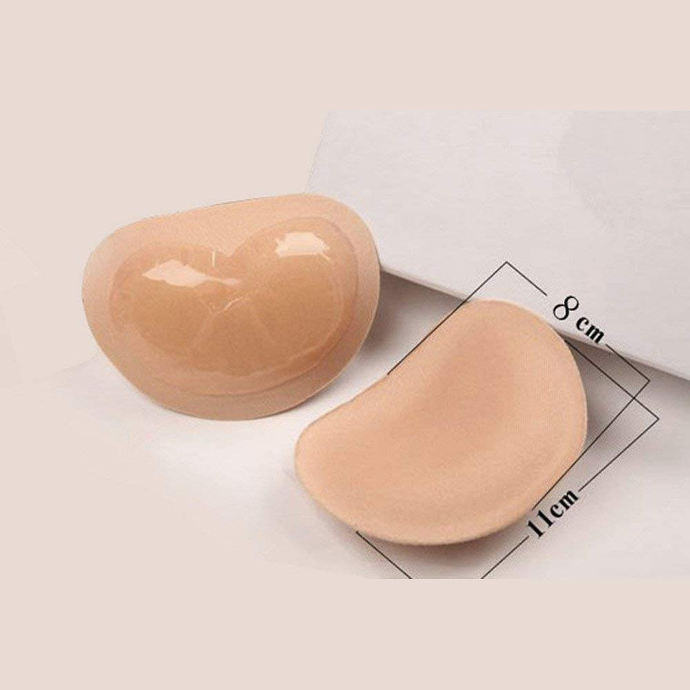 f77860f95c008 LtrottedJ 2018 Women s Breast Push Up Pads Swimsuit Accessories Silicone  Bra Pad