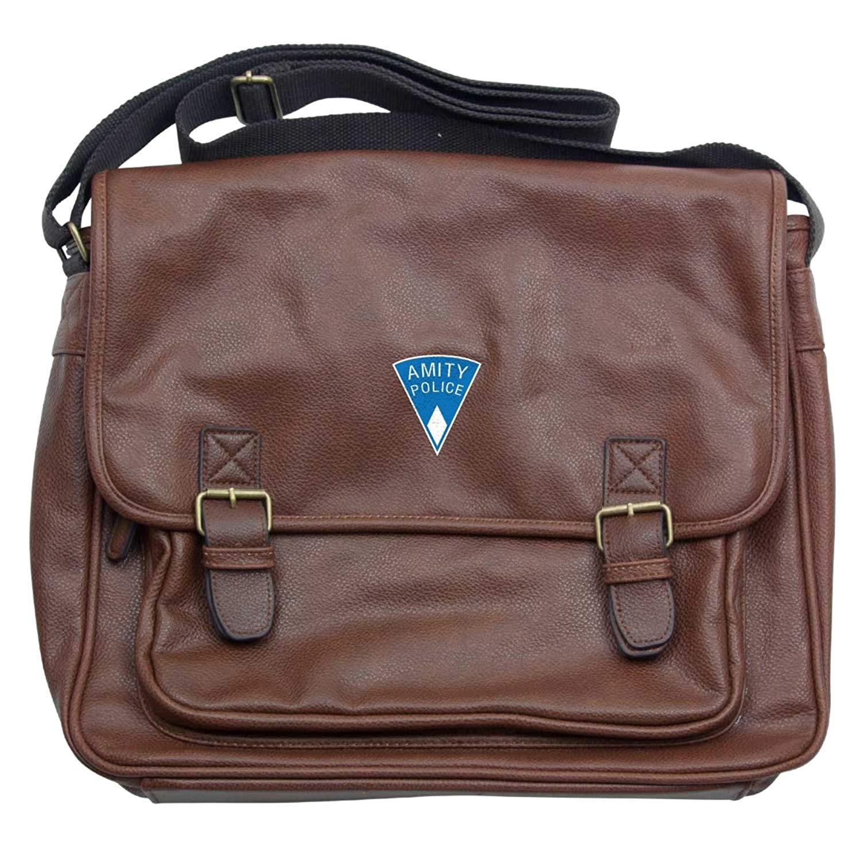 JAWS: AMITY ISLAND POLICE LOGO Luxury Laptop Messenger Bag