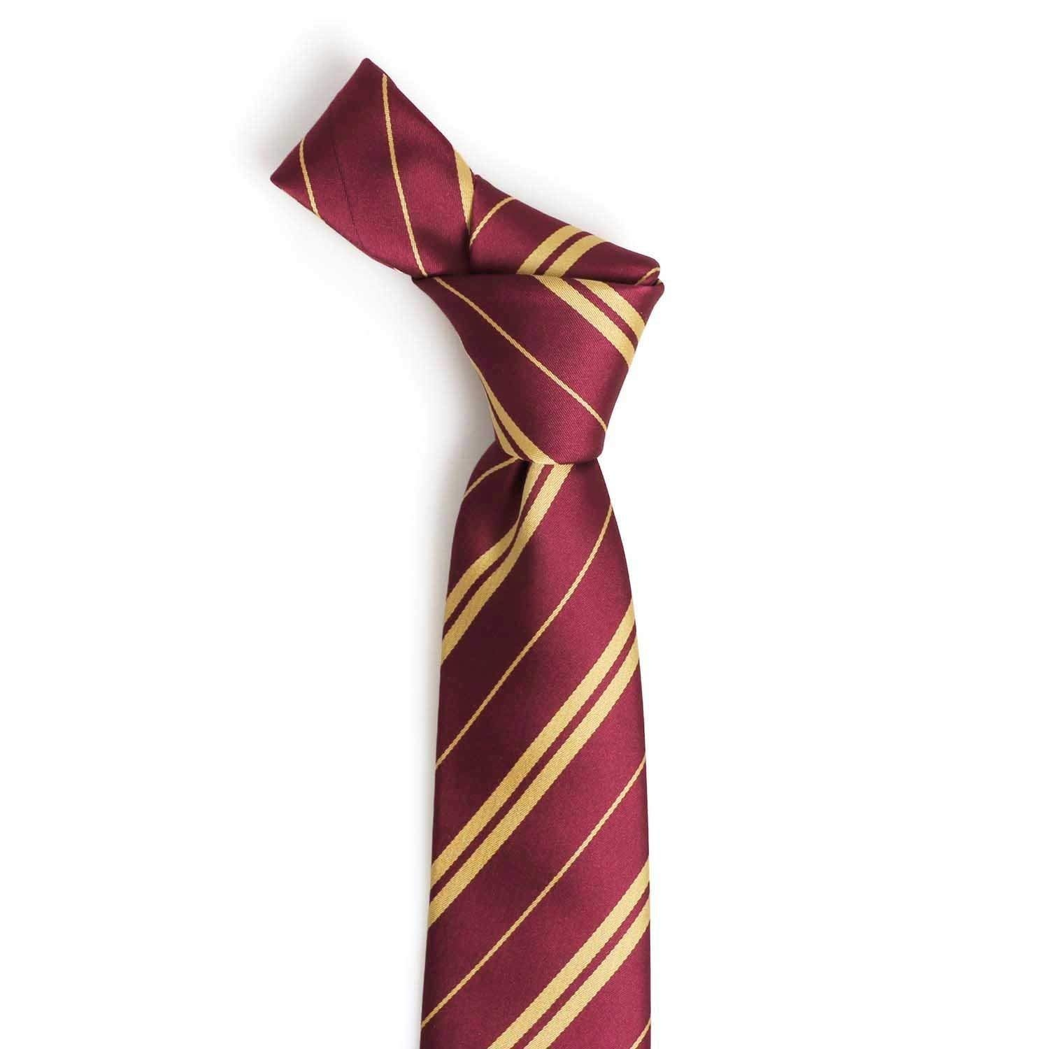 0b49dc366c Ultpeak Harry Potter Tie - Gryffindor Necktie w  Wizard Glasses for ...
