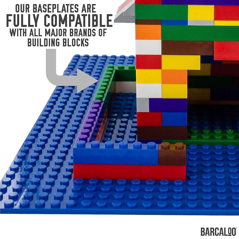 Constructibles® x100 Red 1x1 Plates 3024 LEGO® Bulk Parts
