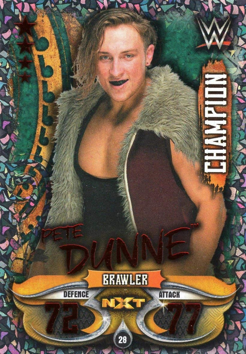Topps Slam Attax Live-Card 28-Pete Dunne-Champion