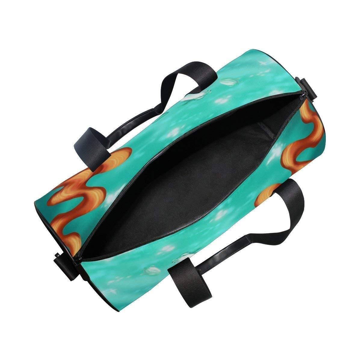 9314cface0e6 OuLian Gym Duffel Bag Pink Sequins Mermaid Sports Camp Dance Shoulder Bags  Women