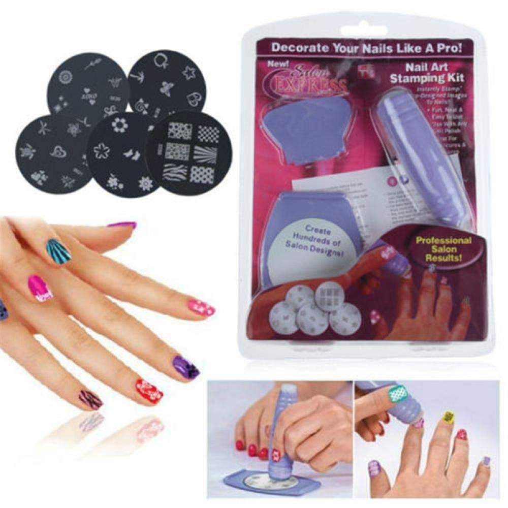 Nail Art Stamping Kit Beauty Beauty: Buy Online from Fishpond.co.nz