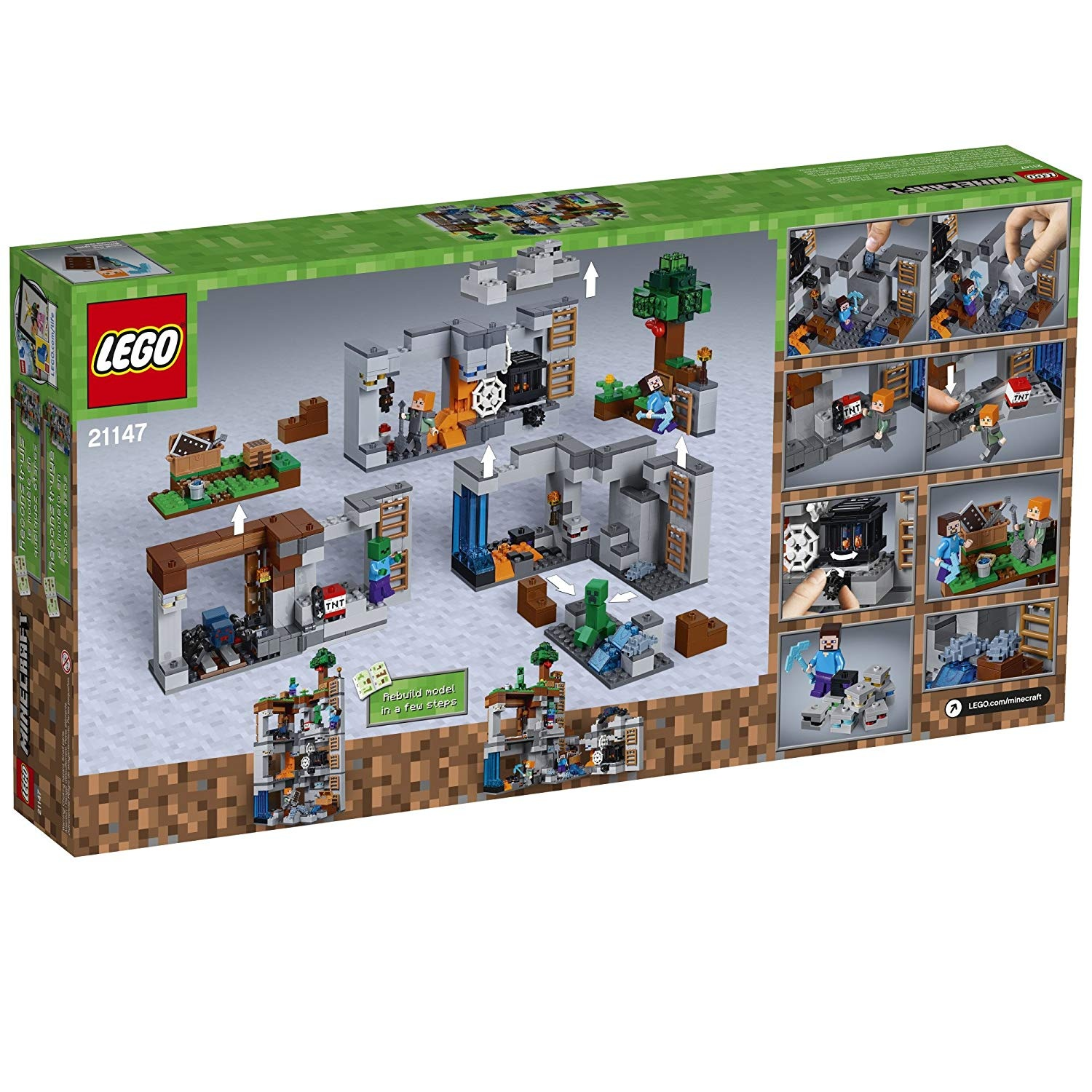Minecraft Toys Buy Online From Lego 21134 The Waterfall Base