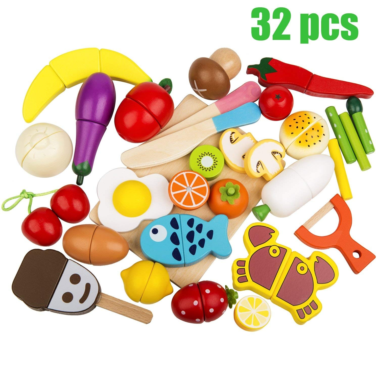 eca046b133a4c Wooden Vegetable Basket Toys Toys  Buy Online from Fishpond.co.nz