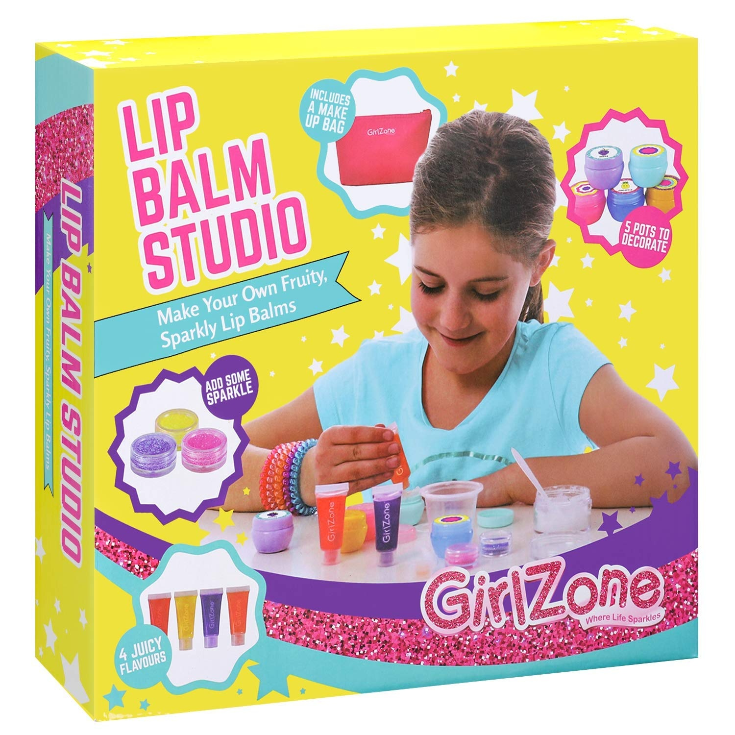 GirlZone GIFTS FOR GIRLS Make Your Own Lip Balm Kit With This 22
