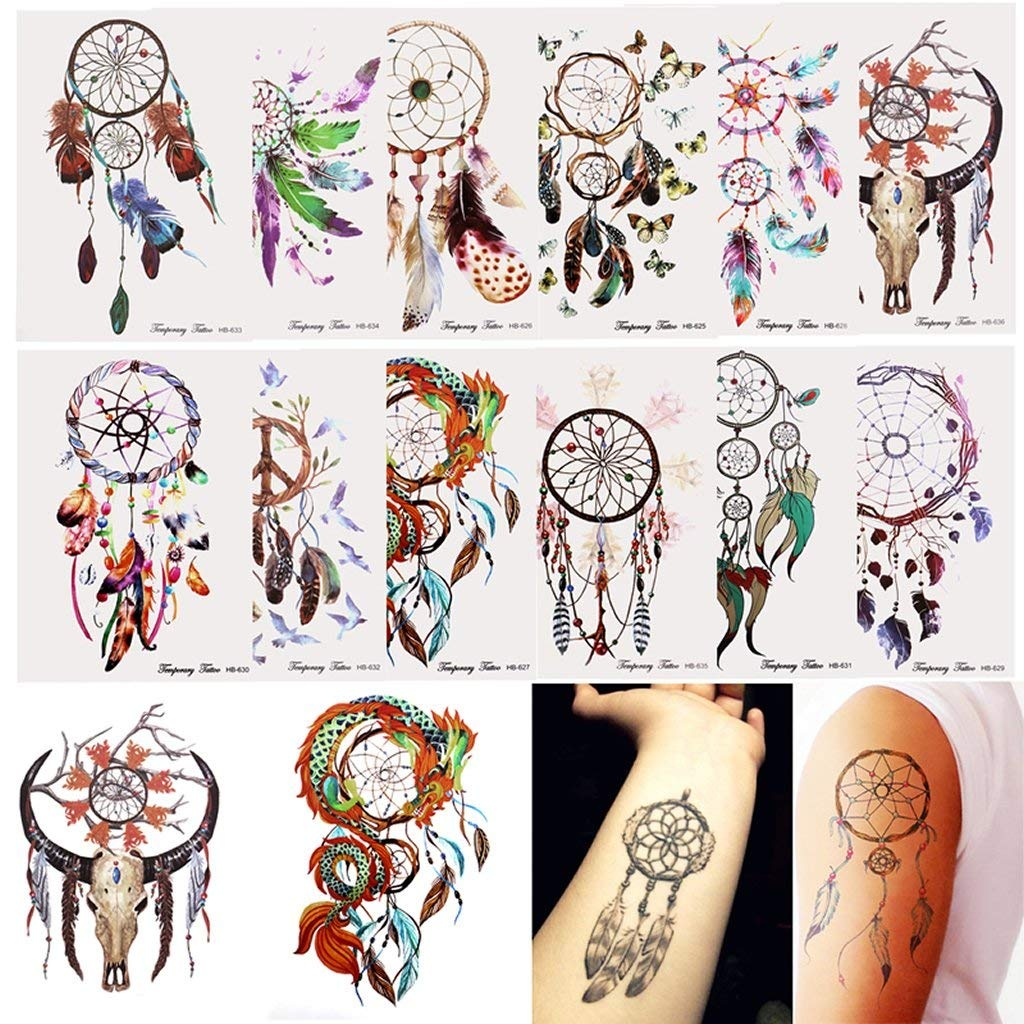 Online Beauty Store Buy Makeup Body In Fiji Tatto Temporary Sticker Hb577
