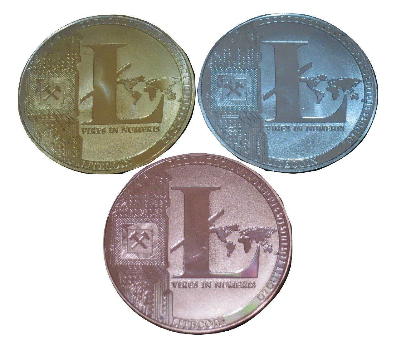 GOLD PLATED DASH B-Creative Gold Silver Plated Bitcoin