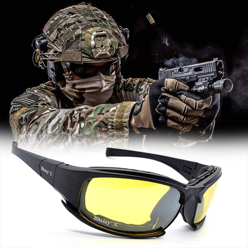 EraseSIZE 100/% UV protection Safety Eyewear, Polarized Sports Sunglasses  With 4 Interchangeable Lenes
