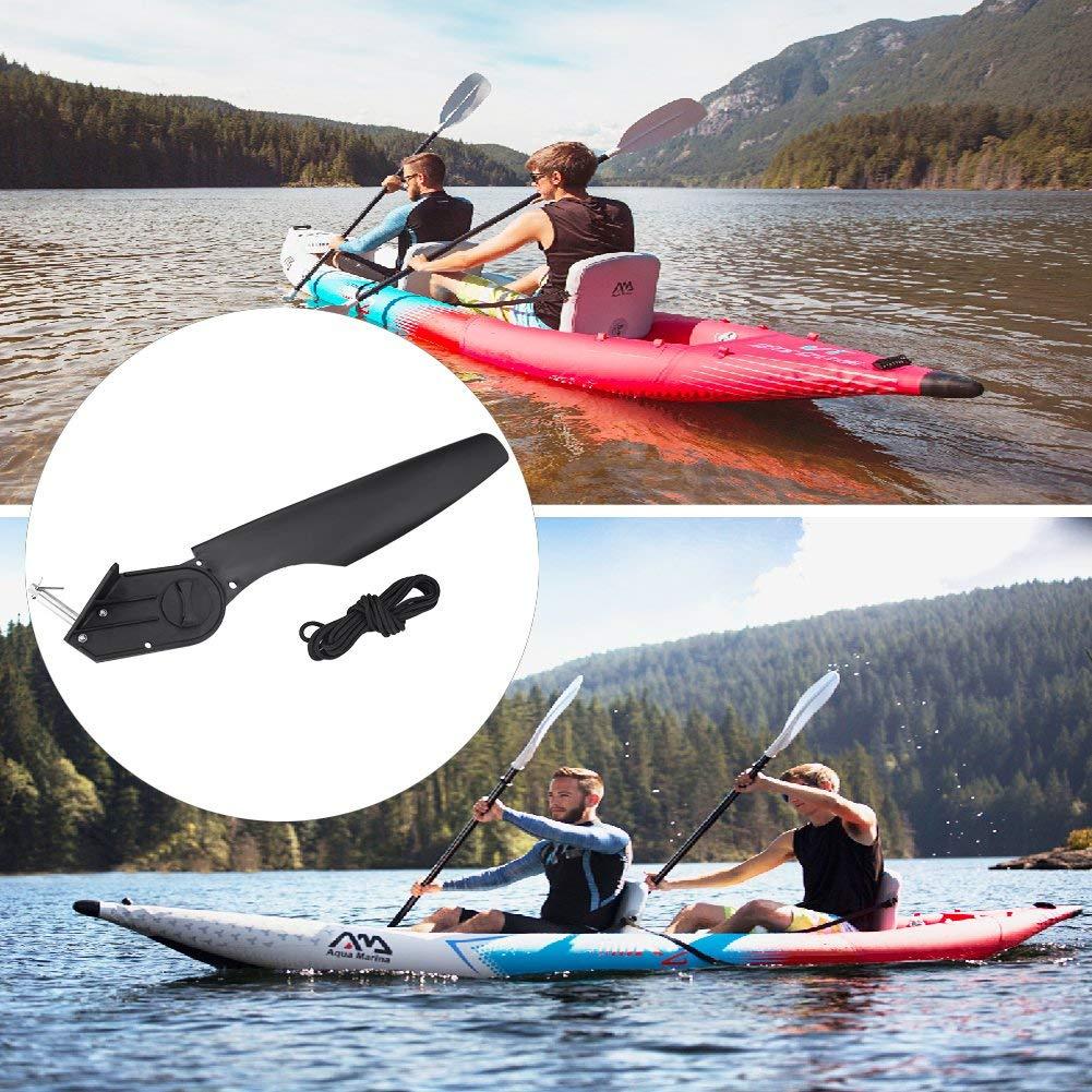 Vbestlife Kayak Rudder Plastic Watercraft Canoe Angling Boat Rudder Foot  Direction Control Tackle Kits for Boat Kayaking