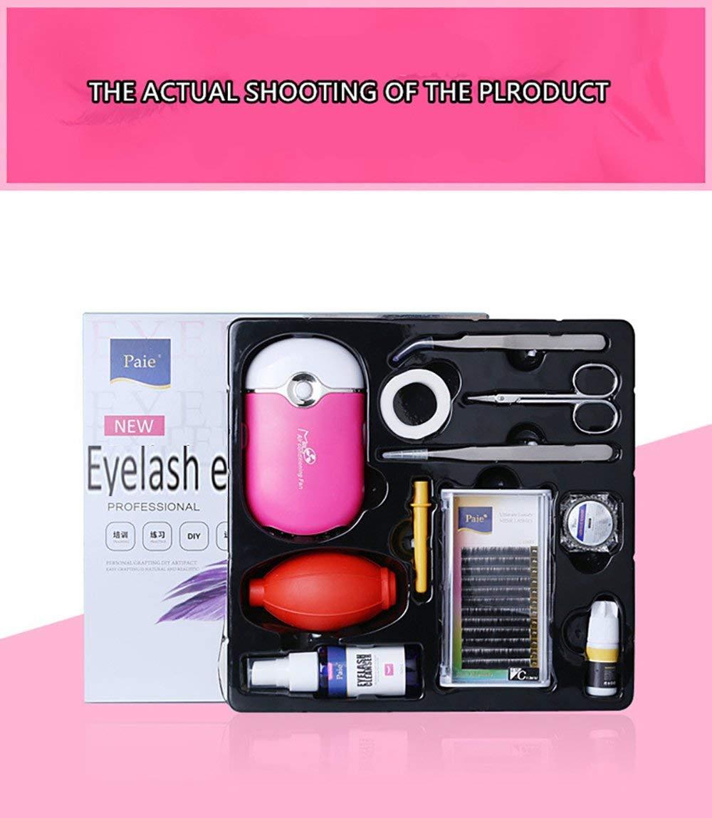 Vinmax Pro Eyelashes Extension Kit /& Grafting Eyelash Tools Set