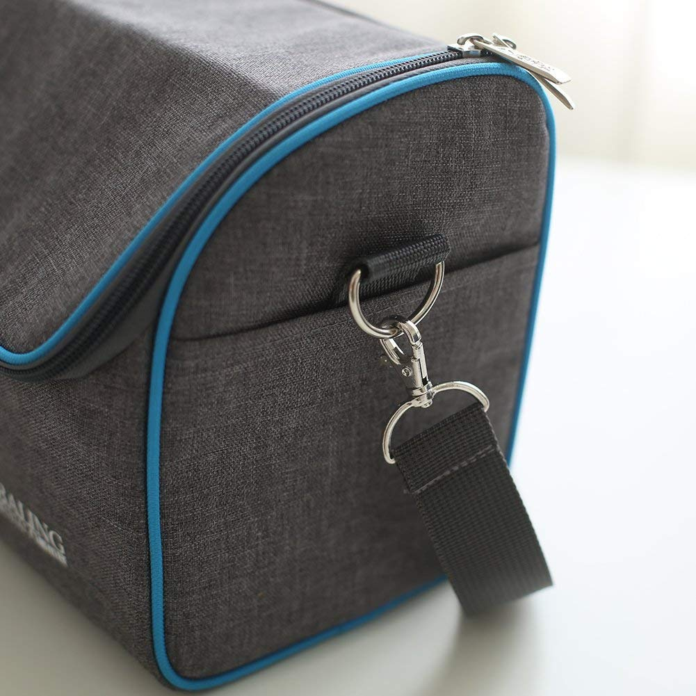 1b5c89fd2a58 Insulated Lunch Bag & Lunchbox Cooler Bag,Adjustable Straps