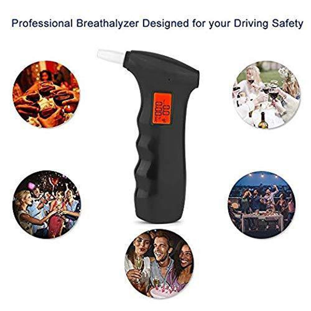 Zooarts Alcohol Breathalyser Detects