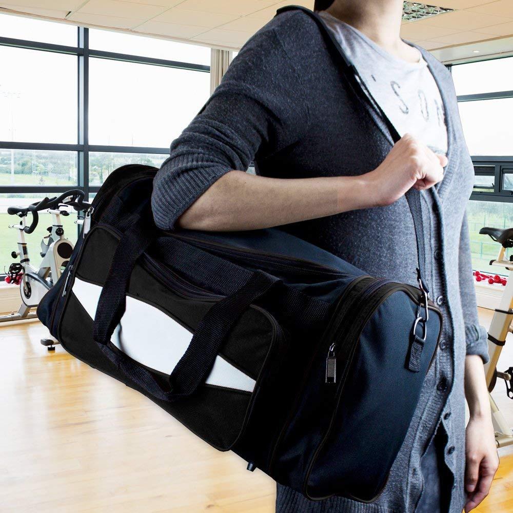 25078ceeb833 Crown Sporting Goods 600 HD Tuff Cloth Canvas Duffle Bag, 50cm /Medium
