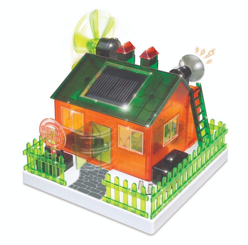 Astonishing Wegetdone Build Your Own Solar Eco Home Kit For Science Project Craft For Kids Toys For 8 Download Free Architecture Designs Rallybritishbridgeorg