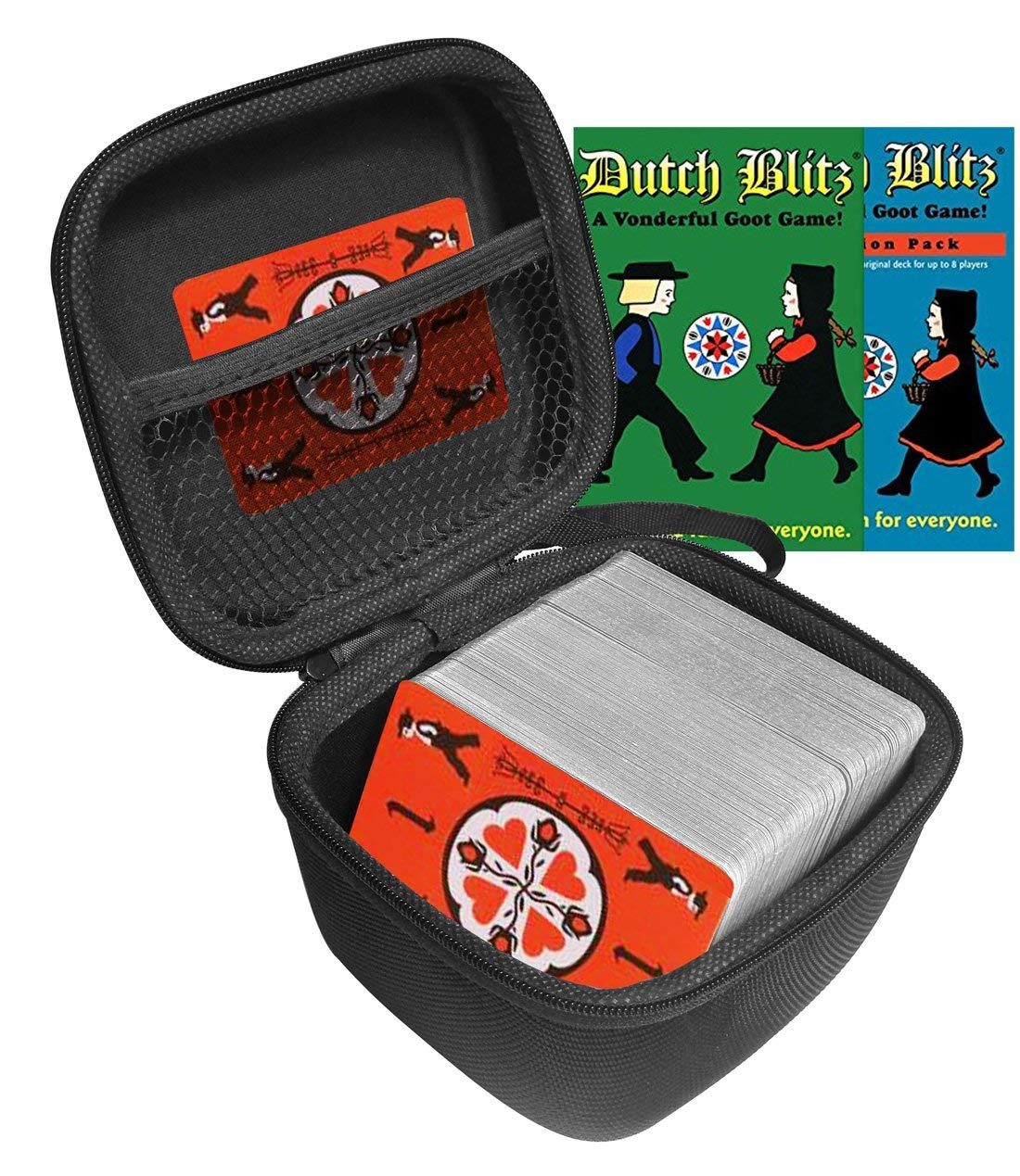 eda3cfd70f6 FitSand(TM) Dutch Blitz Original and Expansion Pack Set Card Game ...
