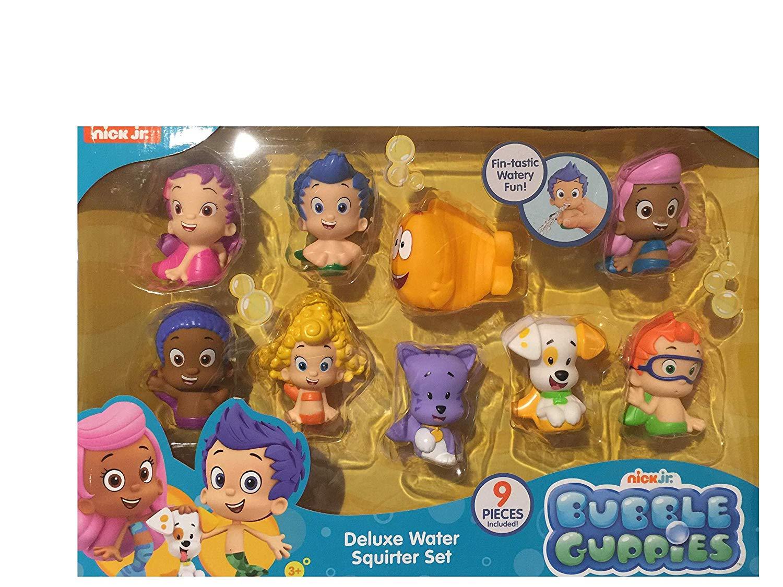 Bubble Guppies Nick Jr Deluxe Water Squirter Set