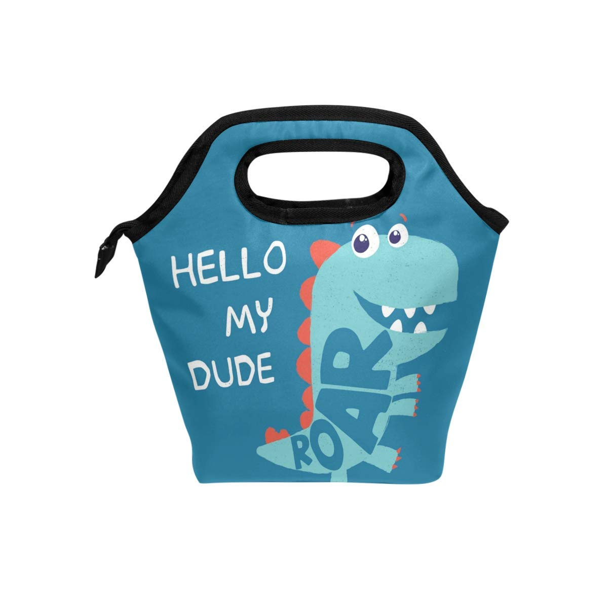 3faeaa33071d ALARGE Lunch Bag Cute Sea Animal Crocodile Insulated Reusable Lunch Box  Portable Lunch Tote Bag Meal Bag Ice Pack for Kids Boys Girls Adult Men  Women