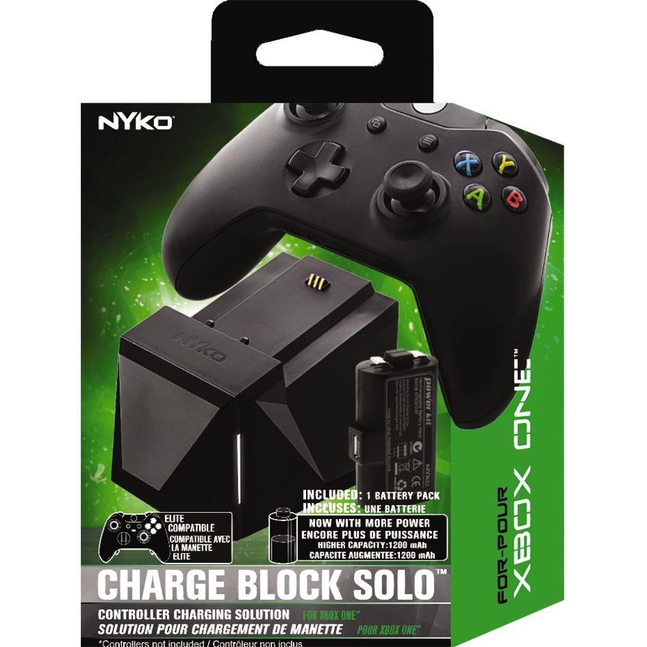 NYKO Xbox One Charge Block Solo Black