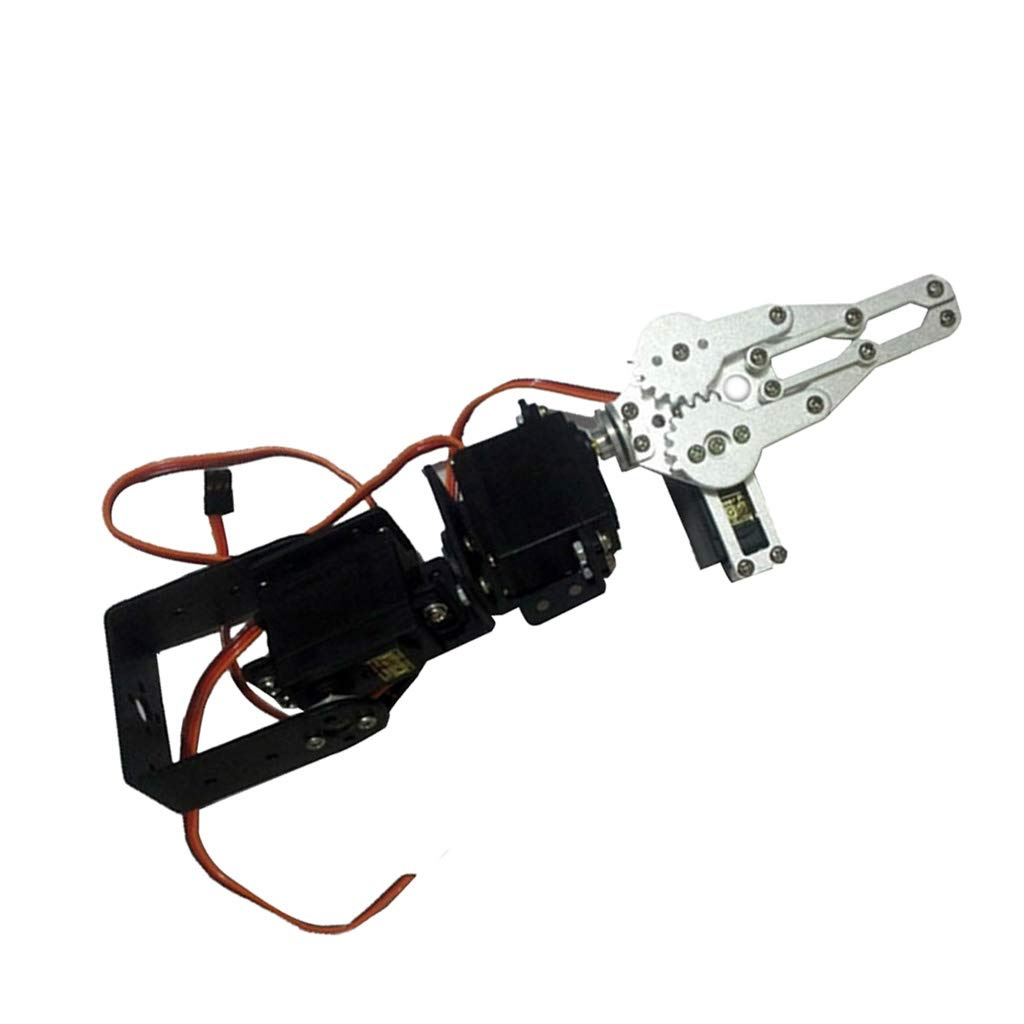 Electronic Toys F Fityle 6 DOF Metal Mechanical Arm Kit