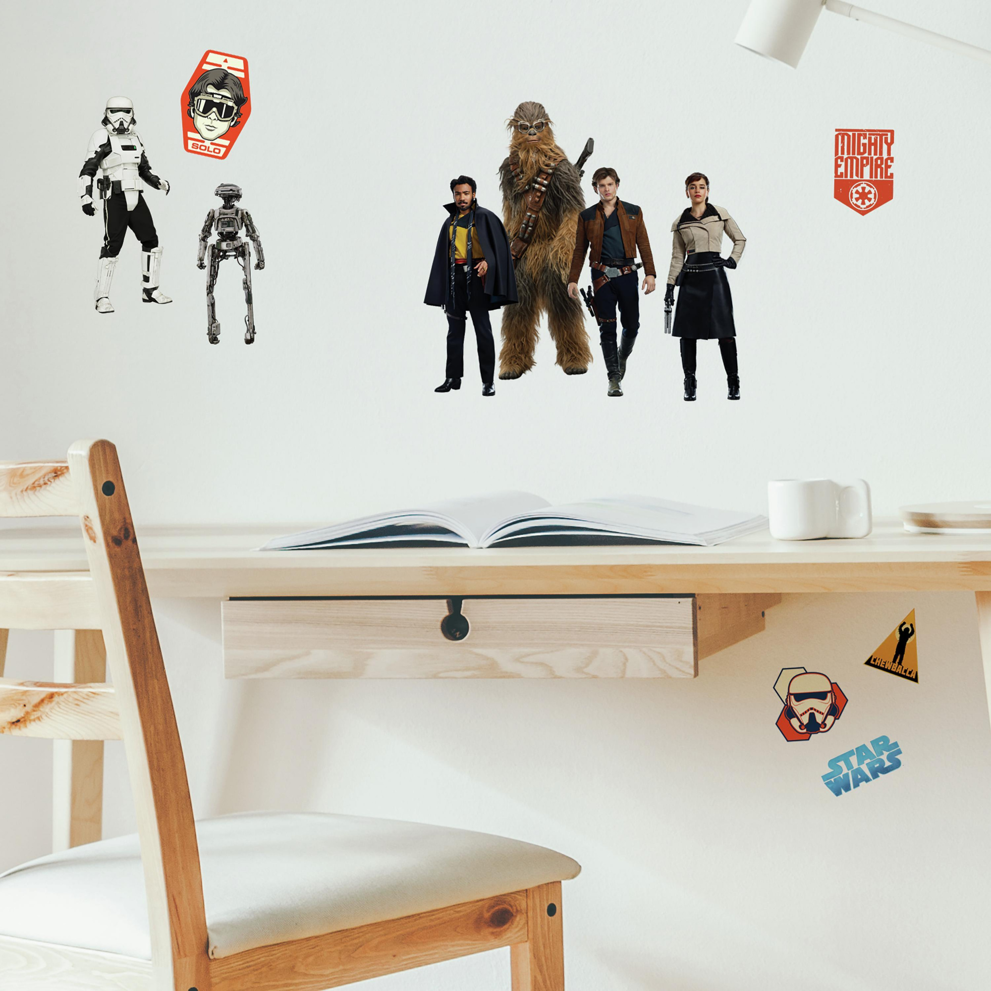 Star Wars Han Solo Wall Decals