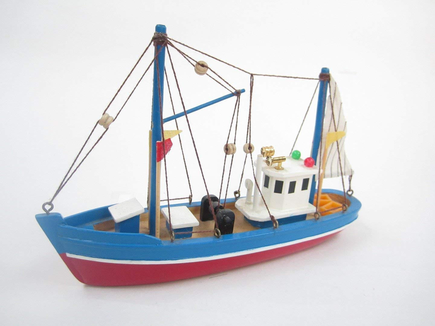 Blue Dolphin Starter Boat Kit Build Your Own Fishing Boat Wooden Model Ship