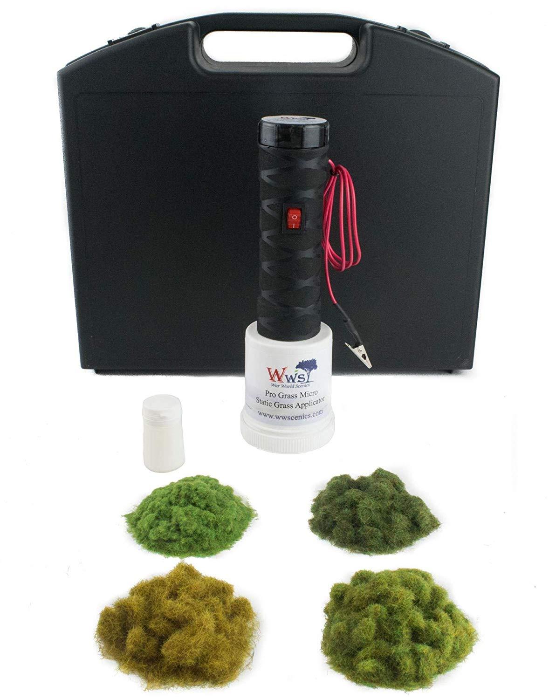 War World Scenics Pro Grass Micro Applicator Starter Kit – Railway  Modelling Model Diorama Wargame Terrain