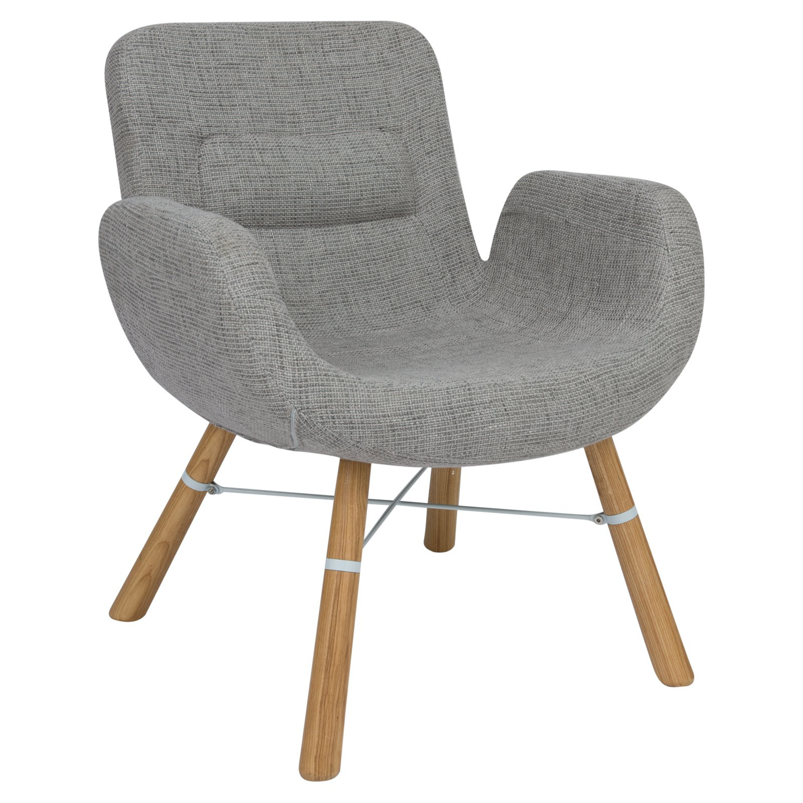 LeisureMod Milwood Ergonomic Accent Lounge Chair