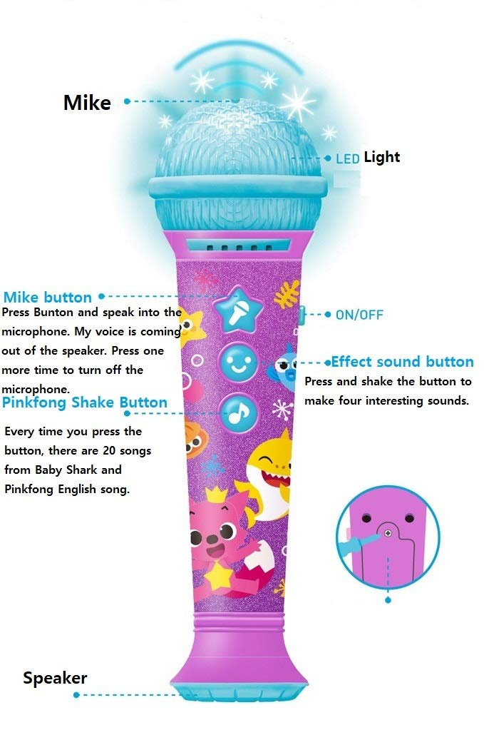 Pinkfong Baby Microphone for Kids