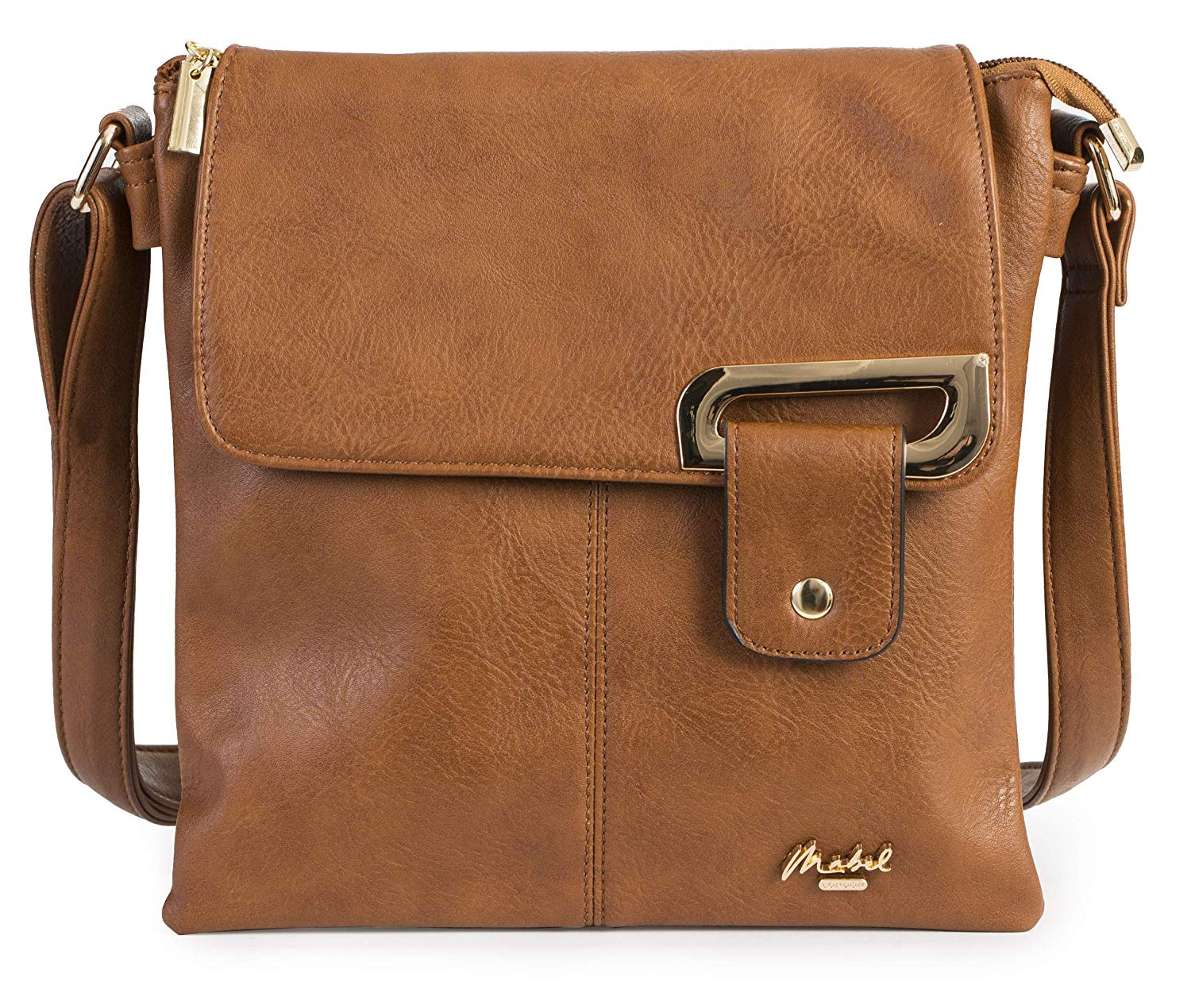 a3f5a9499d83 Womens Medium Trendy Messenger Cross-Body Shoulder Bag With a Branded  Protective Storage Bag - FAITH
