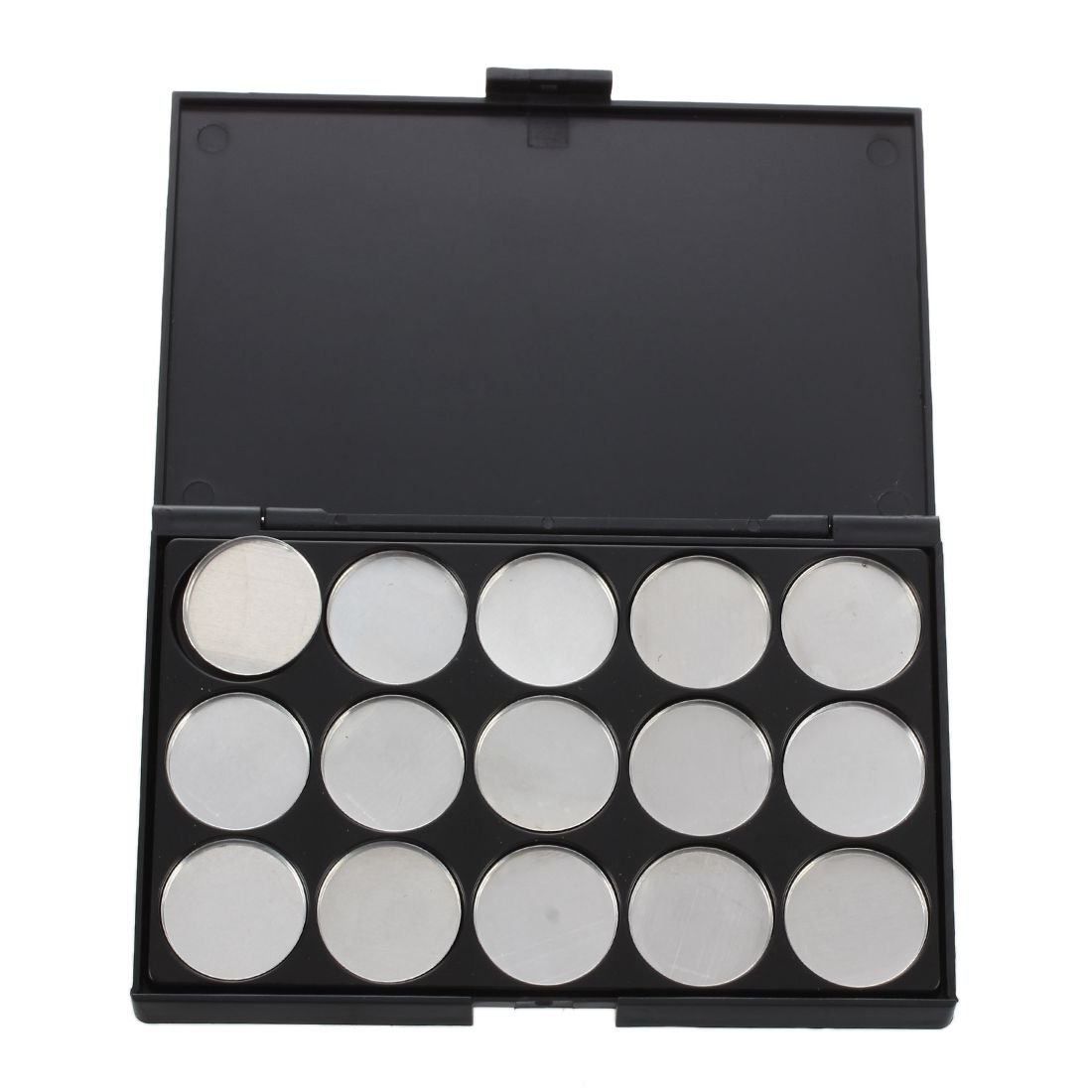 6176bc749ad0 Moligh doll Makeup Empty 15 pcs Aluminium Eyeshadow Pans with Palette