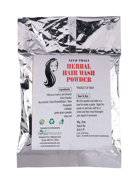 Ayur Thali - herbal hair wash Powder 150 grammes