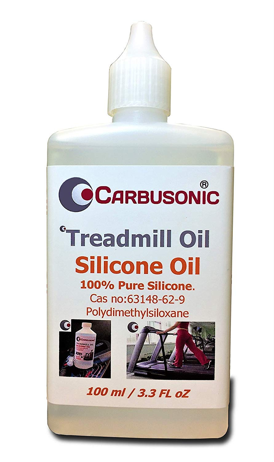 Carbusonic SILICONE Oil Lubricant Acrylic Pouring Medium Cell Painting  Treadmill Oil 100 ml