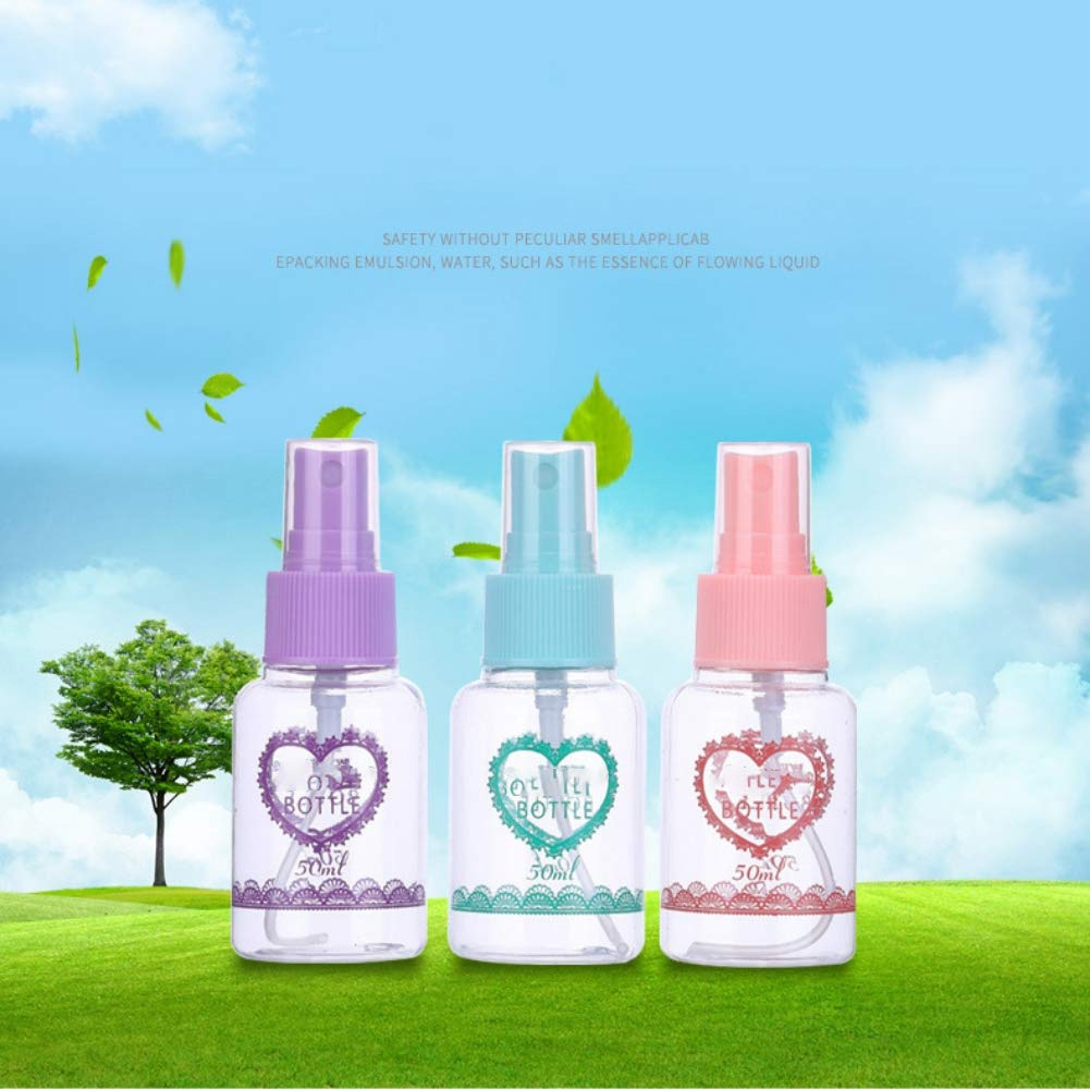 34083ce9df89 Pretty Comy Empty Cosmetic Spray Bottle Makeup Face Lotion Atomizer Sample  Bottles Perfume Cosmetic Refillable Sprayer Bottel