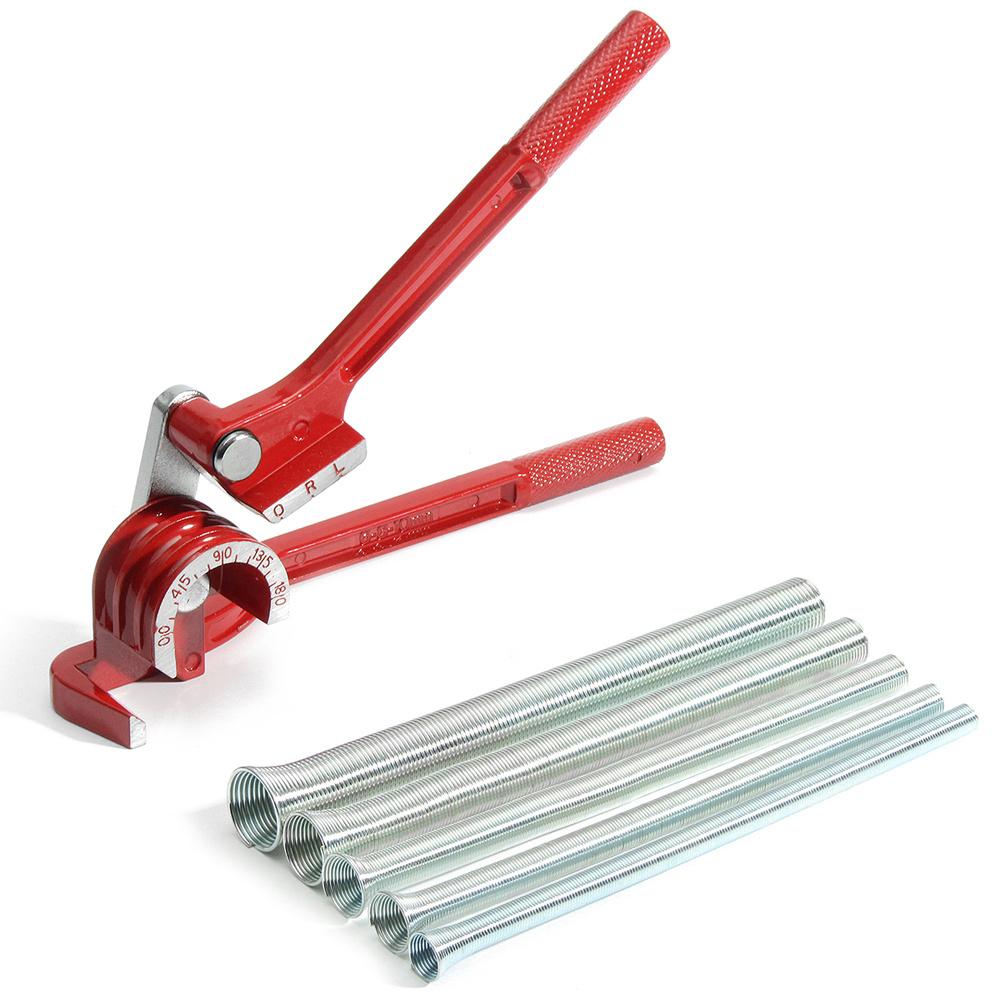 3 In 1 180° Tube Bender for Plumbing Copper Aluminium Pipe Spring Bending  Tube