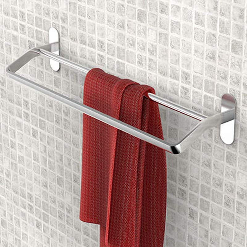 Rose Red OUNONA Waterproof sucker paper towel rack Bathroom Suction Cup Wall Mounted Paper Racks Lavatory Sucker Roll Paper Holder Creative Tissue Cover Storage Box Accessory