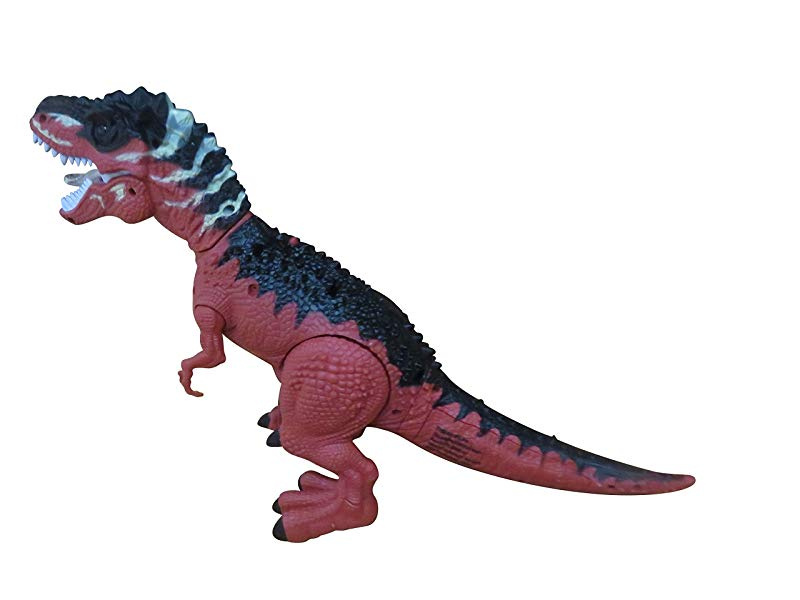 Batttery Operated Walking Dinosaur Toy Figure with Light Up Eyes /& Sounds Real Dinosaur Walk Toyhoo
